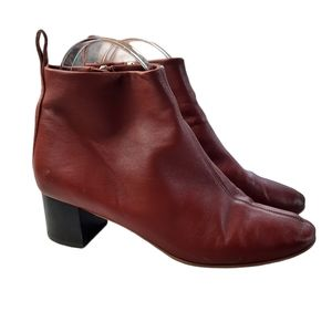 Everlane Day Boots leather in Brick size 5.5
